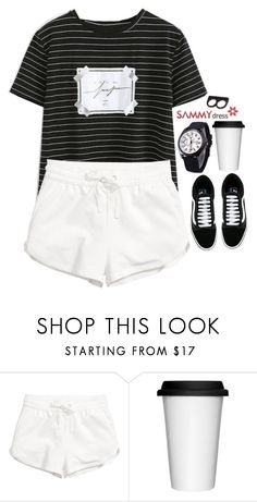 """""""Sammydress 43"""" by emilypondng ❤ liked on Polyvore featuring Sagaform and Vans"""