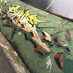 Graffiti Artwork, Graffiti Drawing, Graffiti Alphabet, Graffiti Lettering, Street Art Graffiti, Lettering Tattoo, Brush Lettering, Creative Lettering, Lettering Ideas