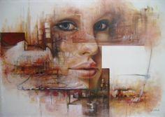 "Saatchi Art Artist Alberto Alvarez; Painting, ""So many dreams"" #art"