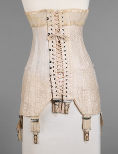 Corset  Royal Worcester Corset Company (American, 1864–1950)  Date: 1917–19
