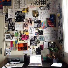 148 dorm room inspiration decor ideas - page 38 ~ Modern House Design Room Decor Bedroom, Diy Room Decor, Master Bedroom, 1920s Bedroom, Room Decorations, Diy Bedroom, Sala Grunge, College Dorm Organization, Deco Studio