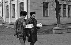 Поход джентльменов в гости. Новокузнецк. 1980