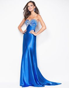 bridesmaid dresses in royal blue jewelry