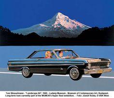 """Tom Wesselmann - """"Landscape #4"""", 1965 by artimageslibrary, via Flickr"""
