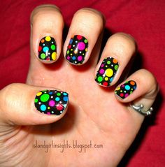 Children in Need Nail Rock Nail Wraps  http://www.justrach.com/2011/11/notw-children-in-need-nail-rock-nail.html