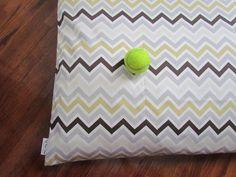 River Rock Chevron Pet Bed Duvet Cover-Large. $59.00, via Etsy.