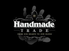 #LogoDesign for Handmade Trade Crafting Community. It's always a pleasure to design for fellow artists.