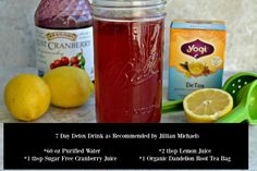 Learn how to make the Jillian Michaels Recommended 7 Day Detox Drink Recipe to help shed 5 pounds of water weight in just ONE week and lose the belly bloat!