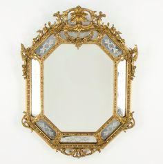 Espelho Veneziano de finais do sec.19th, 124cm X 95cm, 6,140 USD / 5,400 EUROS / 23,110 REAIS / 38,840 CHINESE YUAN soulcariocantiques.tictail.com