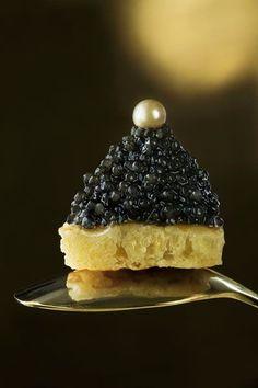 Caviar, Antipasto, Tapas, Luxury Food, Food Presentation, Food Styling, Gourmet Recipes, Food Photography, Food Porn
