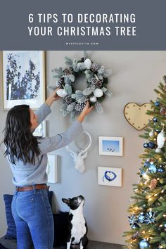 Tips for decorating this Christmas - monochromatic christmas tree ideas - My Style Vita @mystylevita