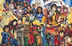The Legend of Aang+ The Legend of Korra)