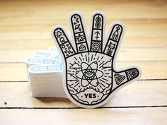 Dribbble - Speaketh to the hand by Daniel Haire