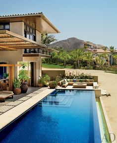 Beach Pool by Terry Hunziker Inc. and Olson Kundig Architects in Los Cabos, Mexico