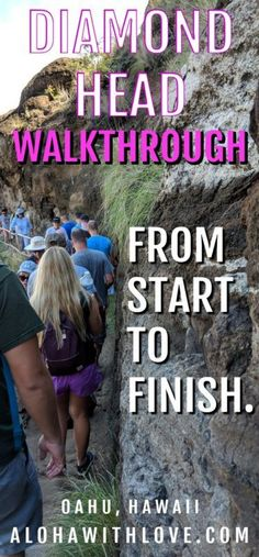 Planning a trip to Oahu, Hawaii? Make sure you visit the world-famous Diamond Head hike and know what to expect from this gorgeous, family-friendly hike before you get there!