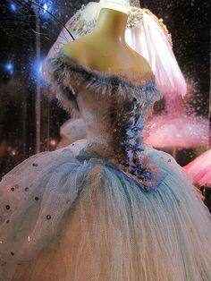 I love the pretty princess dresses!  Little Costume Shop (186) by malcolm bull, via Flickr; designer Vinilla Burnham