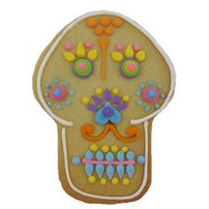 Day of the Dead - Cookie Cutter Day of the Dead Skull Tin
