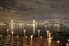 Popular on 500px : HARUMI Wharf Night View by gozo_cedars