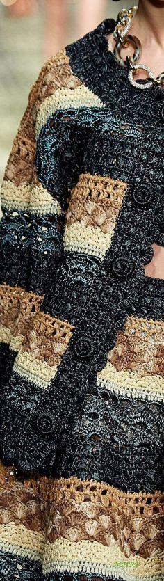 Col Crochet, Crochet Coat, Crochet Cardigan, Irish Crochet, Crochet Motif, Crochet Designs, Knitting Designs, Crochet Clothes, Crochet Patterns