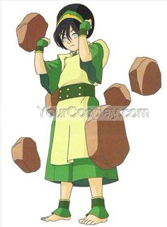 Child's Size Toph Costume RESERVED for kurazoverde, Avatar Cosplay Costumes, Cosplay Costumes