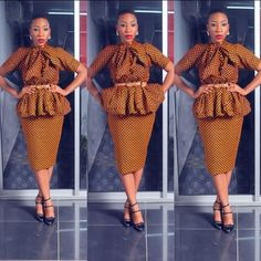 Creative Ankara Skirt and Blouse Style - DeZango Fashion Zone
