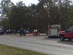 FAYETTEVILLE (KFSM) -- Many people and students from the University of Arkansas gathered on the hill at Fayetteville High School on Tuesday (November 3) to watch as crews surrounded the small plane...
