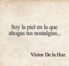 Víctor De la Hoz...