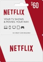 $60 Netflix Gift Card  $10 Best Buy Gift Card for $60 #LavaHot http://www.lavahotdeals.com/us/cheap/60-netflix-gift-card-10-buy-gift-card/120132