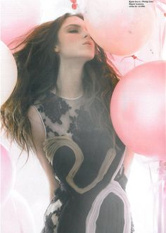 Polina Barbasova - The Balloon Girl 3 (Balloon Photo Shoot)