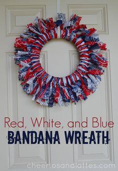 Red-White-and-Blue-Bandana-Wreath-wreath-diy-homedecor-fourthofjuly-memorialday.jpg (2205×3209)
