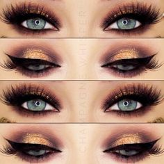 Wanna find makeup for blue eyes that is the most flattering and also appropriate for any occasion? See our collection of the prettiest makeup looks. #makeup #makeuplover #makeupjunkie #blueeyes