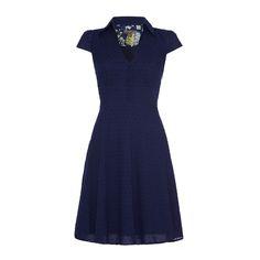 The Provence Dress £79.99 #feverlondon #SS15 #vintageinspired #shirtdress #bluedress