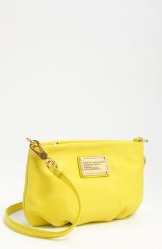 "Classic Q-Percy Crossbody Bag ""Citron Color"" $198 - MARC by MARC JACOBS"