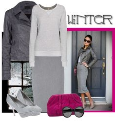 """Winter Chic"" by bodangela ❤ liked on Polyvore"