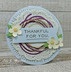Stampin' Up! 2017 May Paper Pumpkin kit alternative, Sprinkled with Love