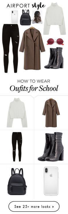 """""""Style"""" by abdulkhalik22 on Polyvore featuring Steve Madden, Ray-Ban, Speck and airportstyle Winter Outfits, Casual Outfits, Cute Outfits, Girl Fashion, Fashion Outfits, Womens Fashion, Noora Style, Noora Skam, Brown Outfit"""