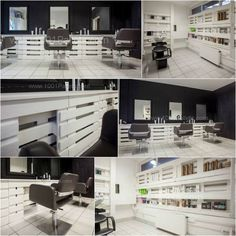 Pallet hair and nails salon in Hungary #Furniture, #HairSalon, #Pallet