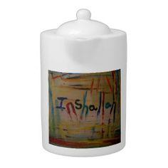 inshallah abstract teapot