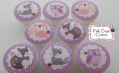 8 LAVENDER WOODS KNOBS m2m Kids Nursery Girls by PinkSugarCouture