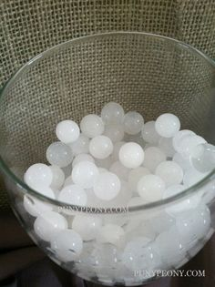 3000/5000/10000pcs White Crystal Absorbing Gel by FloatingPearls