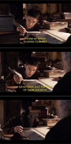 Was going to post this on my Merlin board but it's so relatable to college life that I thought it would fit here just as well. haha. :)