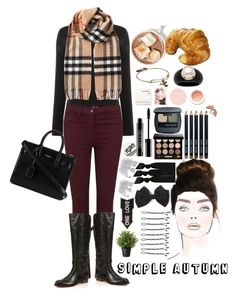 """""""Simple Autumn"""" by gabbro ❤ liked on Polyvore"""