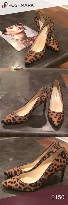 NWOT LK Bennett animal print pumps. Worn once (around the house) gorgeous animal print pumps, classic must-have. A smidge too big on me. Remember, animal print is a neutral. LK Bennett Shoes Heels