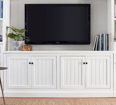 Tv consoles media cabinets entertainment centers pottery barn media stands and consoles tv stands and media . Entertainment Center Makeover, Entertainment Center Kitchen, Diy Entertainment Center, Entertainment System, Tv Stands, Media Stands, Media Consoles, Ikea Hemnes Regal, Corner Light