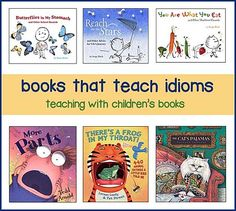 cute and clever kids books for teaching idioms