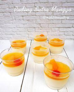 My Kitchen Gallery: Silky mango pudding ~ Puding sutra mangga