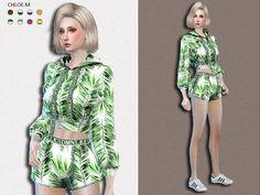 ChloeMMM's Sports Hoodie and Shorts 2