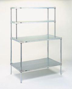 Stainless Steel Kitchen Shelf Shelving Rack 4 Level Shelving Unit Shelves