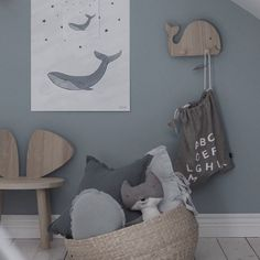 A mouse and some whales keeping one another company in this cozy corner thanks dear @emsloo #nofred #mousechair #mousetable #danishdesign #kidsroom #kidsnursery #kidscorner #kidsfurniture #kidsinspiration #interior #lifewithkids