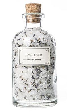 USE!  Mullein  Sparrow   Organic Limited Edition Lavender Bath Salts 9 oz
